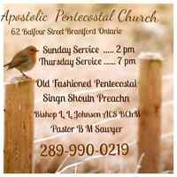 Apostolc Pentecostal Church UPCI