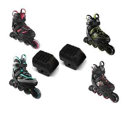 Doppelpack STOPPER CRIVIT Inline Skates Kinder 2015 Bremsgummi Lidl 881001