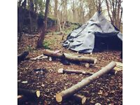 Intro to bushcraft survival and wood craft skills for women