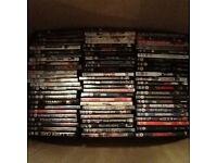 Huge box of DVDs