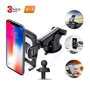 2 in 1 SPCEUTOH Car Phone Mount, Phone holder for car 15$