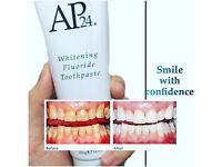 Whitening toothpaste no peroxide