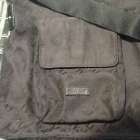 Armani uni-sex shoulder bag