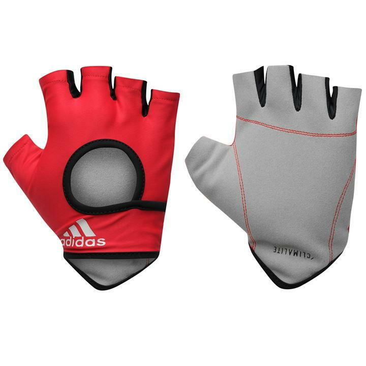 adidas Climate Essential Training Gloves, Red