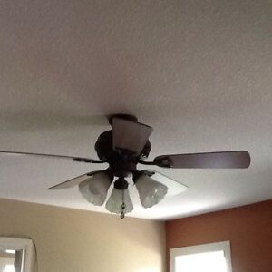 Working ceiling fans