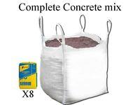 WHITES SKIP HIRE - COMPLETE CONCRETE MIX