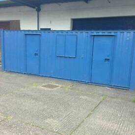 20 ft Container, Welfare unit