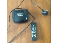 2 FREEVIEW TV BOX WITH REMOTE CONTROLS IN VERY GOOD WORKING ORDER.