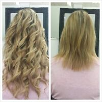 Professional hair extensions $60! Bring your own hair