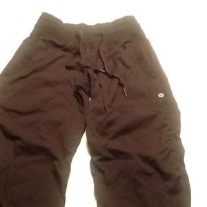 LuLulemon Pants, Silver Jeans & Roots sweat pants.