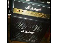Marshall JVM210H and 1960DMB Speaker Cabinet