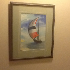 Original Water Colour by Kay Paterson ( signed)