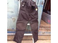 AKITO CORDURA LADIES/CHILDS SIZE SMALL,. MOTOR CYCLE TROUSER BOTTOMS!.