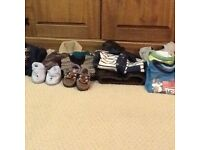 Assorted boys clothes from newborn up to 4