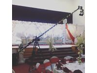 Camera crane jib operator for any Wedding | Party | freelance | cinematography | Filming | Asian