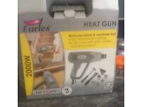Heat gun 2000w made by Earlex