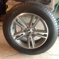 Ford Mustang New Rims with Tires