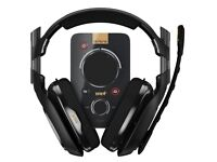 Astro A40 tr headset and mixamp.