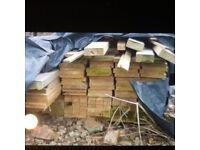 Sarking timber and batons