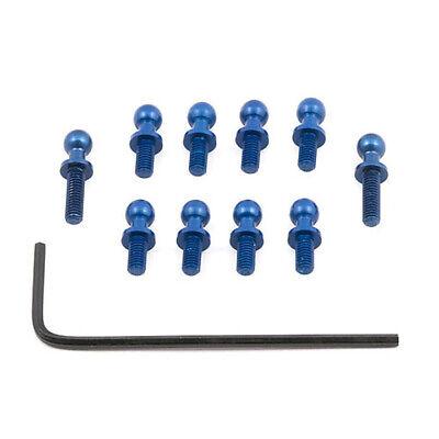 TEAM ASSOCIATED #21241 FT Ballstuds blue aluminum