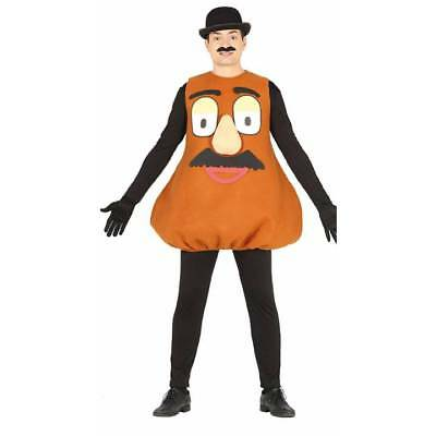 Adult Mr Potato Head Costume Novelty Fancy Dress Stag Mascot Mens Outfit](Potato Costume)