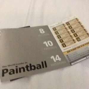 10 Paint Ball tickets with another 10 free tickets Arana Hills Brisbane North West Preview