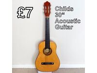 Child's 30 inch Acoustic Guitar