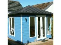 New high quality garden room summer house this one measures 3.6x3.6