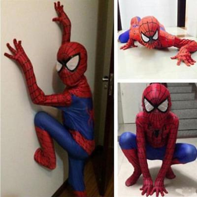 Christmas Party Boy Spiderman Costume Kids Superhero Cosplay Bodysuit Children - Superhero Costumes Children