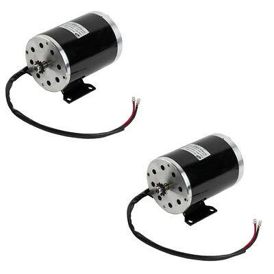 Pair 2 1000w 48v Electric Motor W Base F Scooter Bike Go-kart Minibike Zy1020