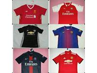 17/18 Season Man Utd Liverpool Arsenal Shirts BNWT