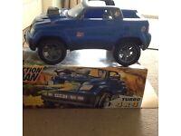 Action man jeep