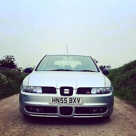 ** VERY LOW PRICE QUICK SALE**Leon FR 20v Turbo 1.8T 180bhp must see!*** Low genuine miles