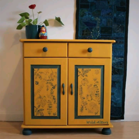 Upcycled cabinet/sideboard