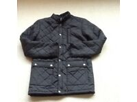 Black quilted jacket - size xs