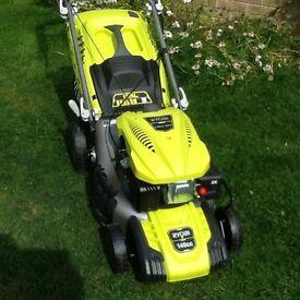 Ryobl petrol lawn mower