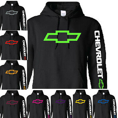 Chevy Hoodie Chevrolet Sizes S,M,L, XL  NWT Assorted Colors