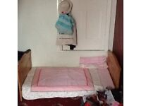 Kiddie save cot bed