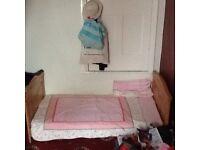 Kiddie save cot bed