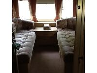 Luxury 4 birth touring caravan with awning