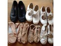 Ballet, Tap, Jazz shoes