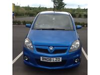 Vauxhall zafira 2.0 turbo vxr 2008