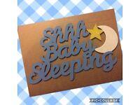 Baby Nursery Plaque
