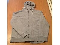 Grey men's hoodie XL
