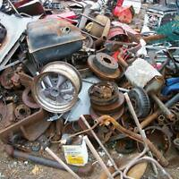 APPLINCES.. batters car parts pots pans, CAR PARTS old tools ect