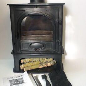 Stovax Stockton 5 midline woodburner / multi fuel stove excellent condition