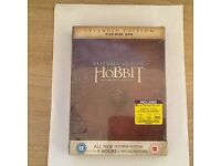The Hobbit extended edition DVDs