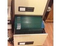 Twin lock file holders