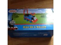Thomas ride on baby walker. New boxed