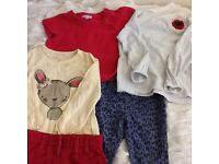 Bundle of clothes for girl 2-3 years next H&m mothercare